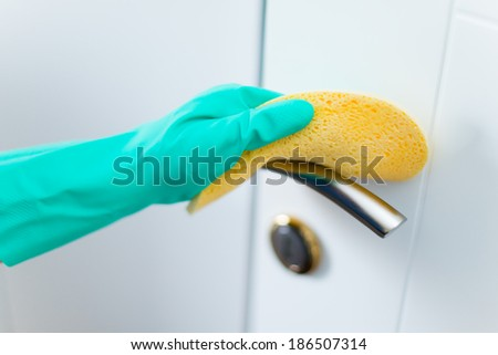 Clean Up - stock photo