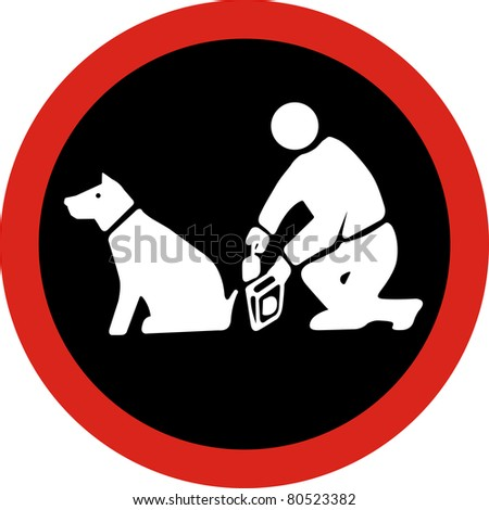 Clean up after your pet in JPG - stock photo