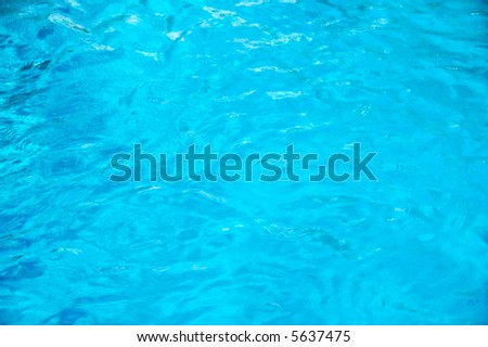 Clean water background with gentle ripples