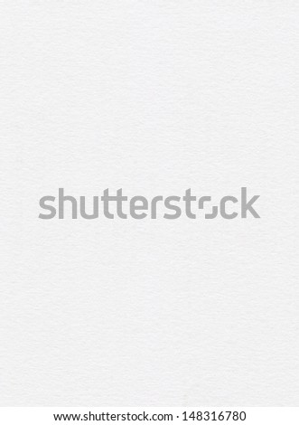 clean white paper texture - stock photo