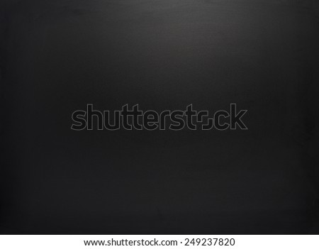 Cleaned black board with the traces of drying water as a background texture composition - stock photo