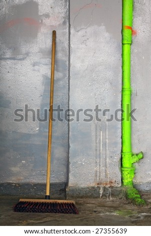 Cleaned not yet. - stock photo
