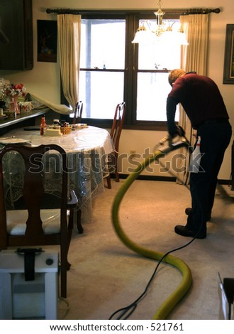 Cleaner, Professional Carpet - stock photo