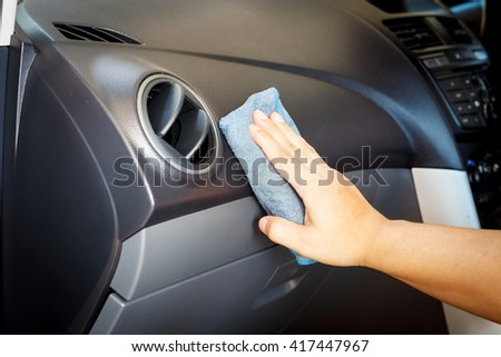 cleaning and checking the car and Auto Repair