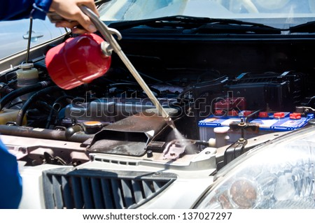 cleaning machine of car by clean car care