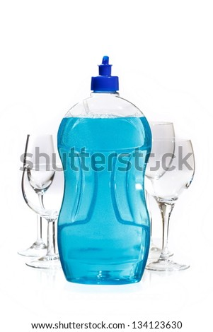cleaning product - stock photo