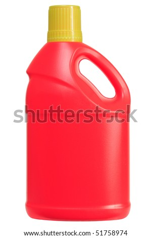 Cleaning product. Isolated - stock photo