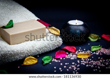 Cleaning products and body care - stock photo