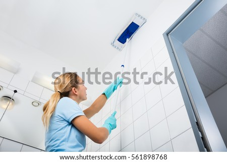 Cleaning brush stock images royalty free images vectors for Bathroom cleaning companies