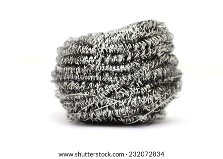 Cleaning Wire  - stock photo