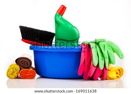 cleaning your home - stock photo