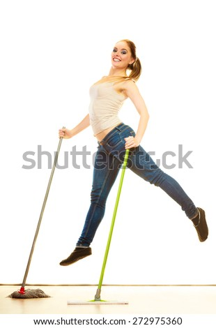 Mop Stock Photos Images Amp Pictures Shutterstock