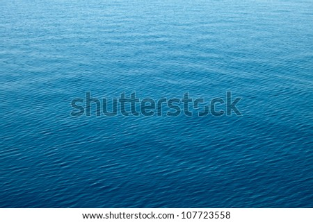 clear blue sea, water seascape abstract background - stock photo
