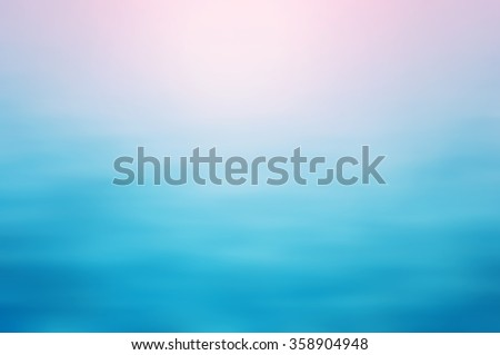 Clear blue water, seascape ripple abstract in blurred background concept in rose quartz serenity color - stock photo