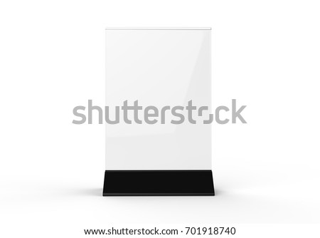 Clear plastic and acrylic table talkers promotional upright menu table tent top sign holder 11x8 table  sc 1 st  Shutterstock & Clear Plastic Acrylic Table Talkers Promotional Stock Illustration ...