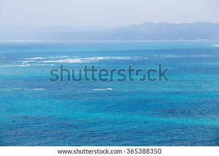Clear sea - stock photo