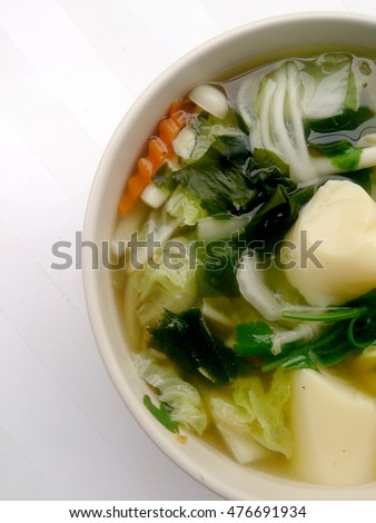 how to make thai clear vegetable soup