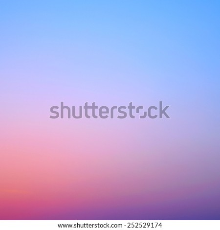 clear sunset sky twilight gradient background - stock photo