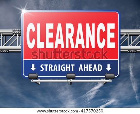 clearance grand sale sales and reduced prices % off authorization granted or denied by bill computer and information security - stock photo