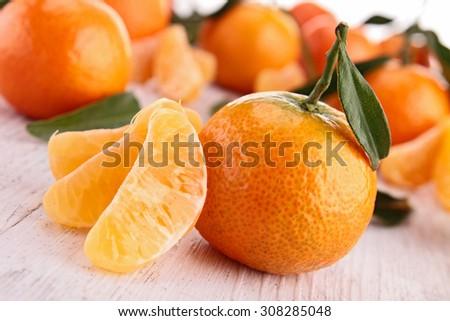 clementine - stock photo