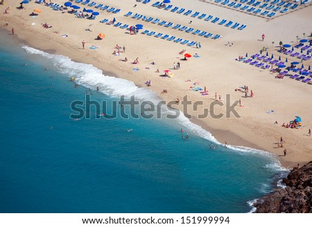 cleopatra Beach  - stock photo