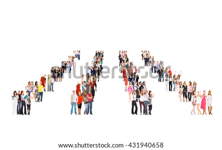 Clerks Compilation Together we Stand  - stock photo