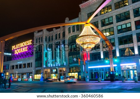 Cleveland Oh January 1 2016 One Stock Photo 360460586 - Shutterstock