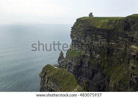 Cliffs of Mother in Clare county, Ireland