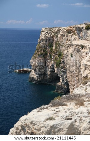 Cliffs - South point of Malta