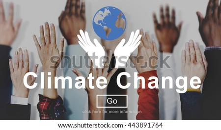 Climate Change Global Warming Environmental Conservation Concept - stock photo