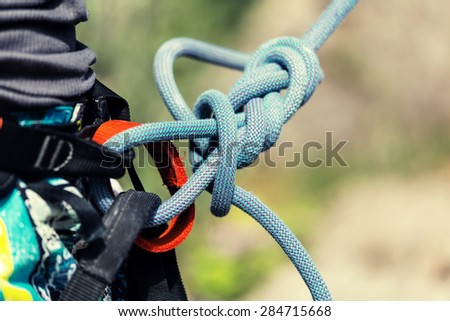 Climbing  equipment - stock photo