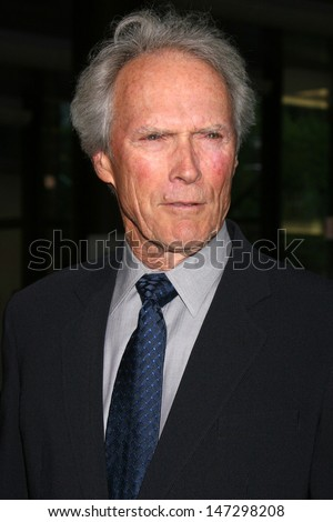 "Clint Eastwood at the ""Dirty Harry"" Screening & DVD Party Director's Guild of America Los Angeles,  CA May 29, 2008"
