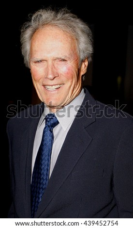 "Clint Eastwood at the Los Angeles Premiere of ""Changeling"" held at the Academy of Motion Picture Arts and Sciences in Beverly Hills, USA on October 23, 2008. - stock photo"