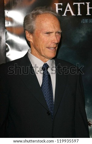 "Clint Eastwood at the premiere of ""Flags of Our Fathers"". Academy of Motion Picture Arts and Sciences, Beverly Hills, CA. 10-09-06"