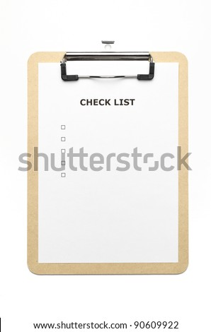 clipboard - stock photo