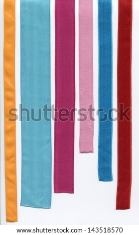 Clipped tape - stock photo