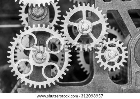 Clock Gears Stock Images Royalty Free Images Amp Vectors