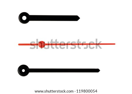 Clock hands - Make your time. - stock photo