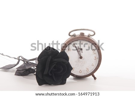 Clock in a sad mood