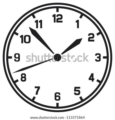 clock (timer) - stock photo