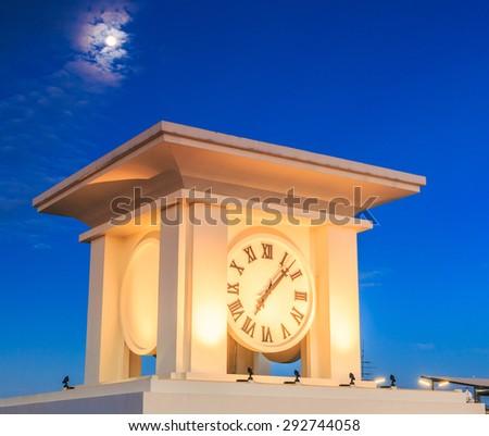 clock tower - stock photo