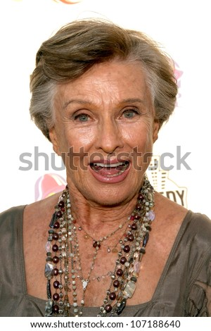 "Cloris Leachman  at the ""Comedy Central Roast of Bob Saget"". Warner Bros Studios, Hollywood, CA 08-03-08"