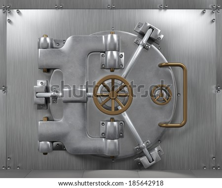 Bank Vault 3d Render Stock Illustration 1403242 Shutterstock