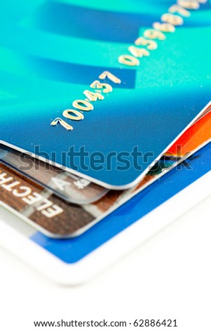 Close to credit cards