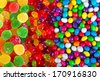 close up a background from colorful sweets of sugar candies - stock photo