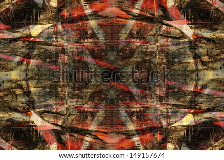 Close up abstract grunge graffiti background - stock photo