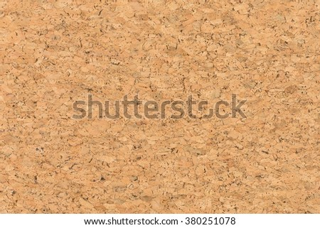 Close Up Background and Texture  of  Cork Board Wood Surface,  Nature Product Industrial - stock photo