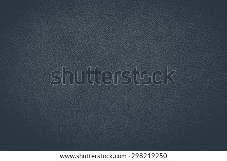 Close - up Black leather texture and seamless background - stock photo
