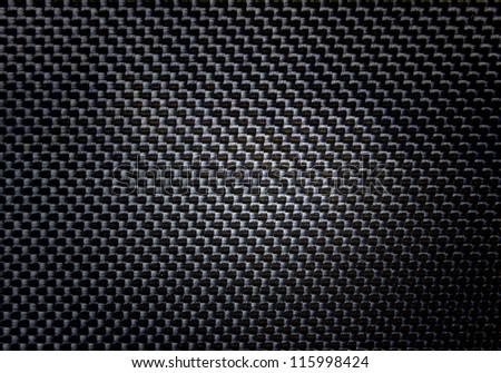 Close up  black  pencil case - stock photo