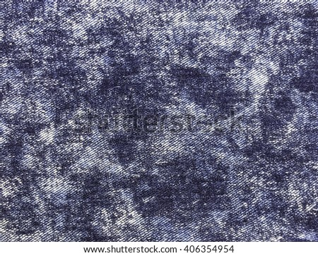 Close up blue jeans background and texture - stock photo